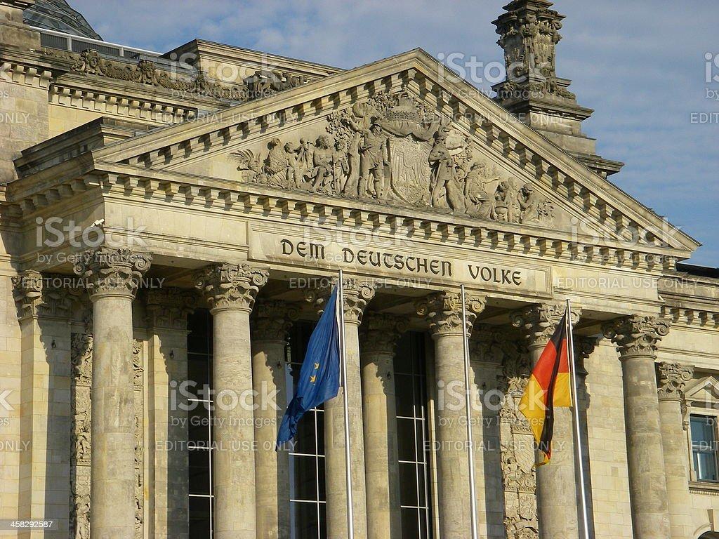 Dem Deutschen Volke royalty-free stock photo