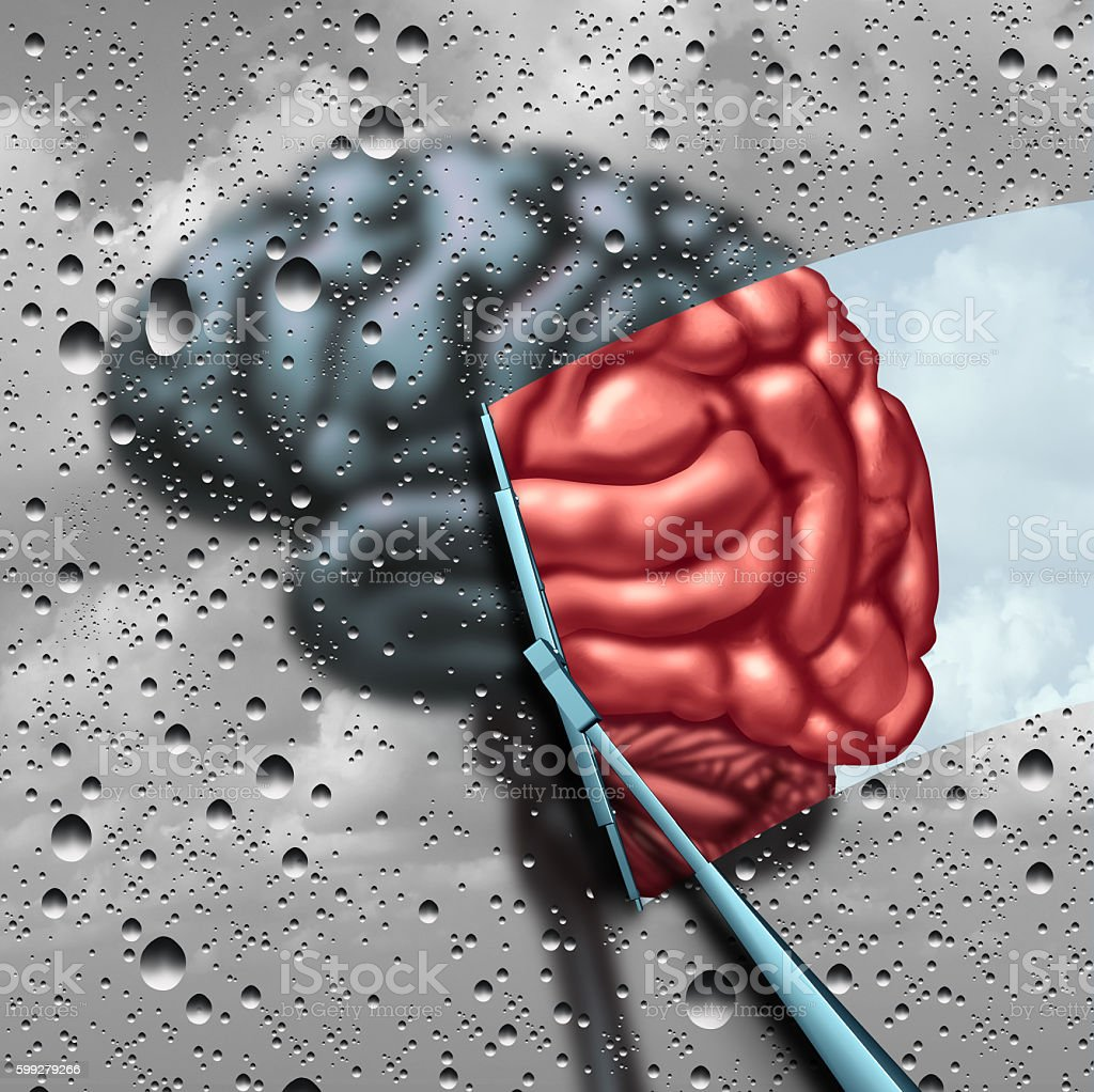 Dementia And Brain Disease Therapy stock photo