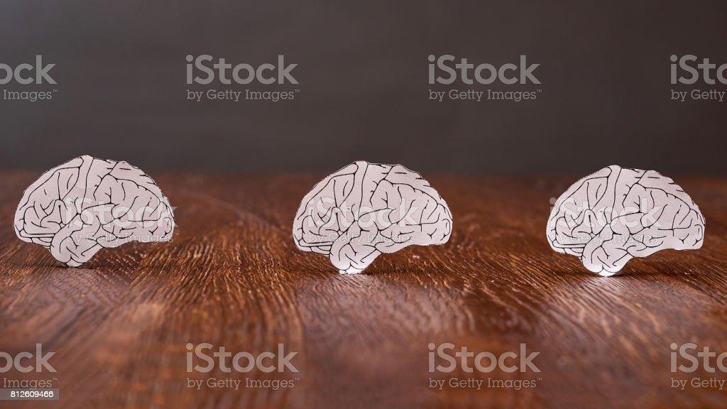 Dementia concept stock photo