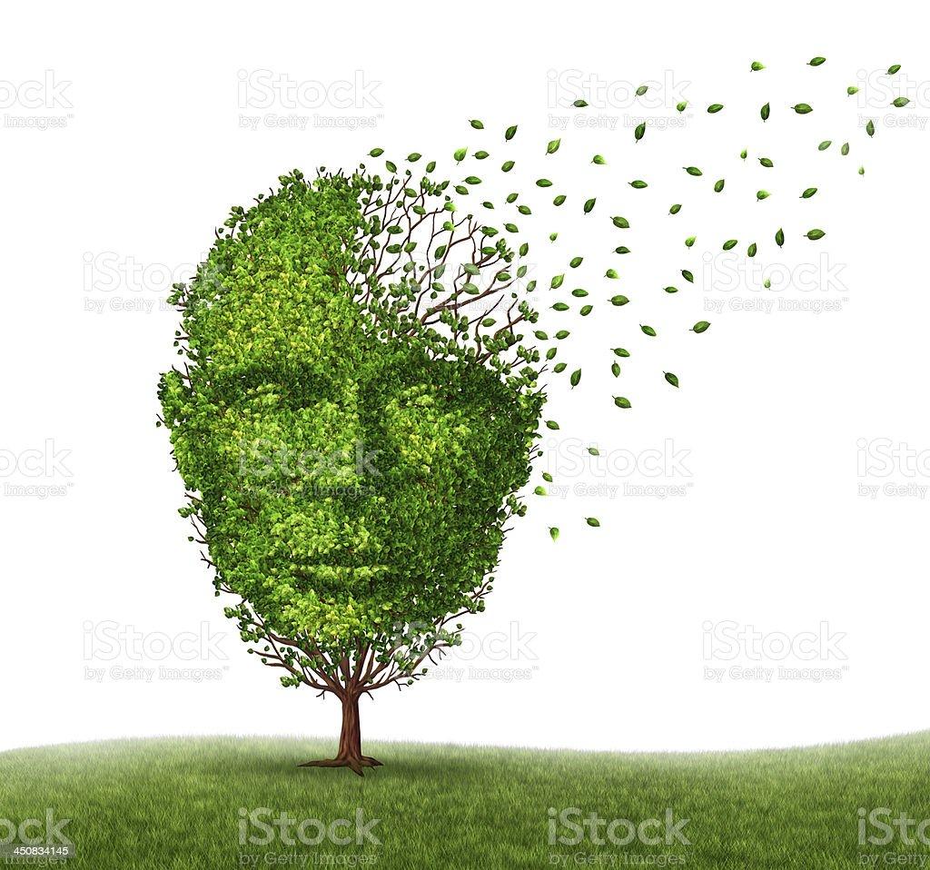 Dementia Disease stock photo