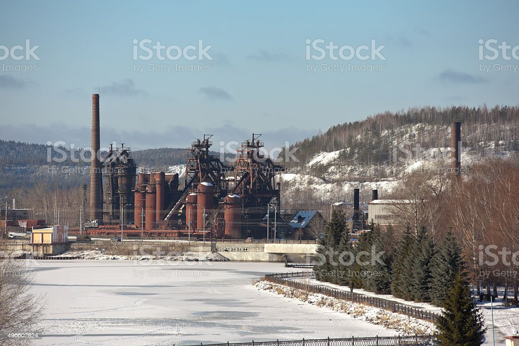 Demidov factory. Factory - Museum. Nizhny Tagil. Sverdlovsk region. Russia. stock photo