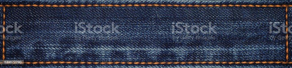 demin fabric texture stock photo