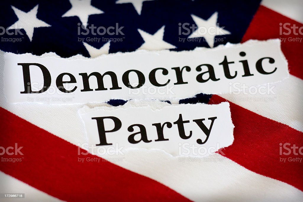 Democratic Party royalty-free stock photo