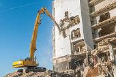 Demolishing a building