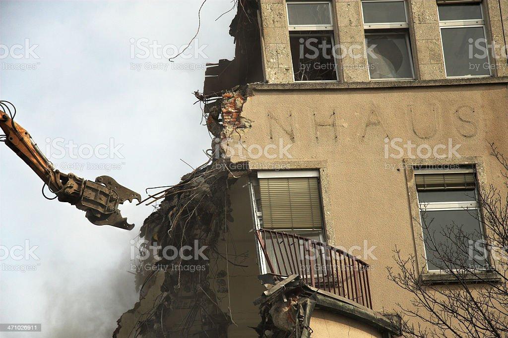 Demolition Derby II stock photo