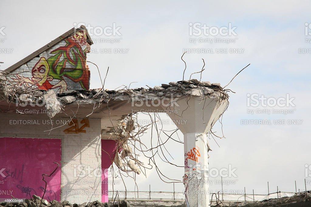 Demolition Landscape royalty-free stock photo
