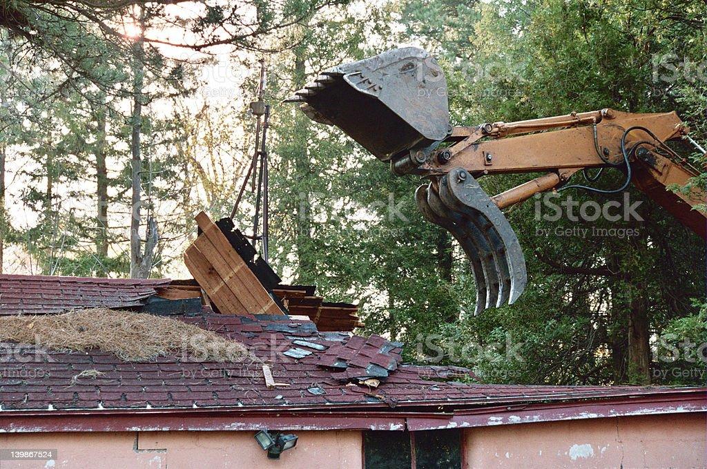 Demolition stock photo