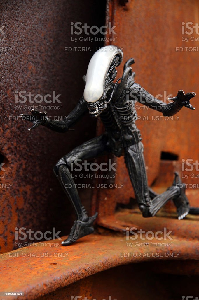 Demon's Embrace stock photo