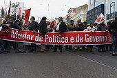 Demonstration in Lisbon