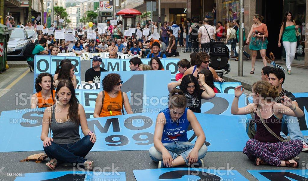 Demonstration royalty-free stock photo