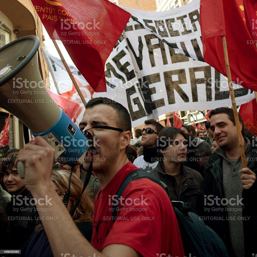 Demonstration stock photo