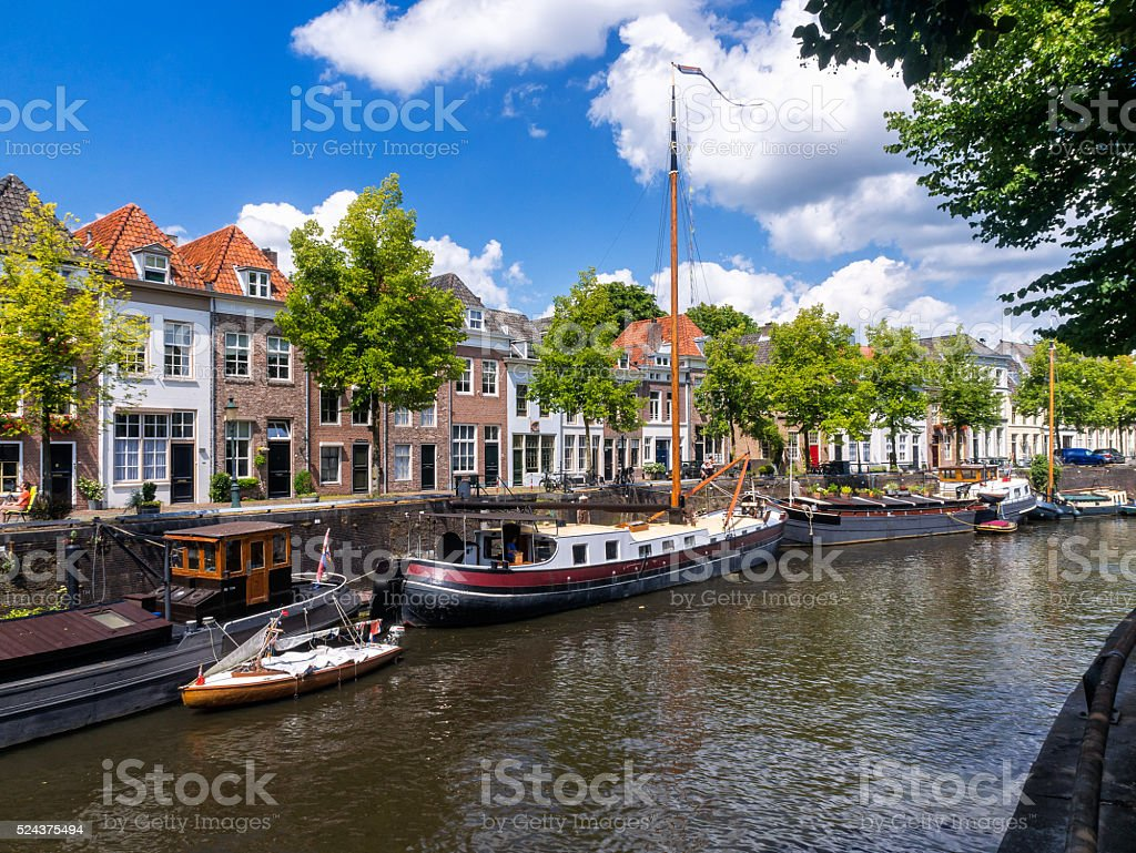 Den Bosch Brede Haven stock photo