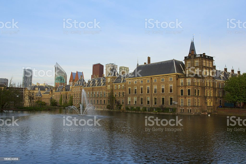 Den Haag, Netherlands royalty-free stock photo