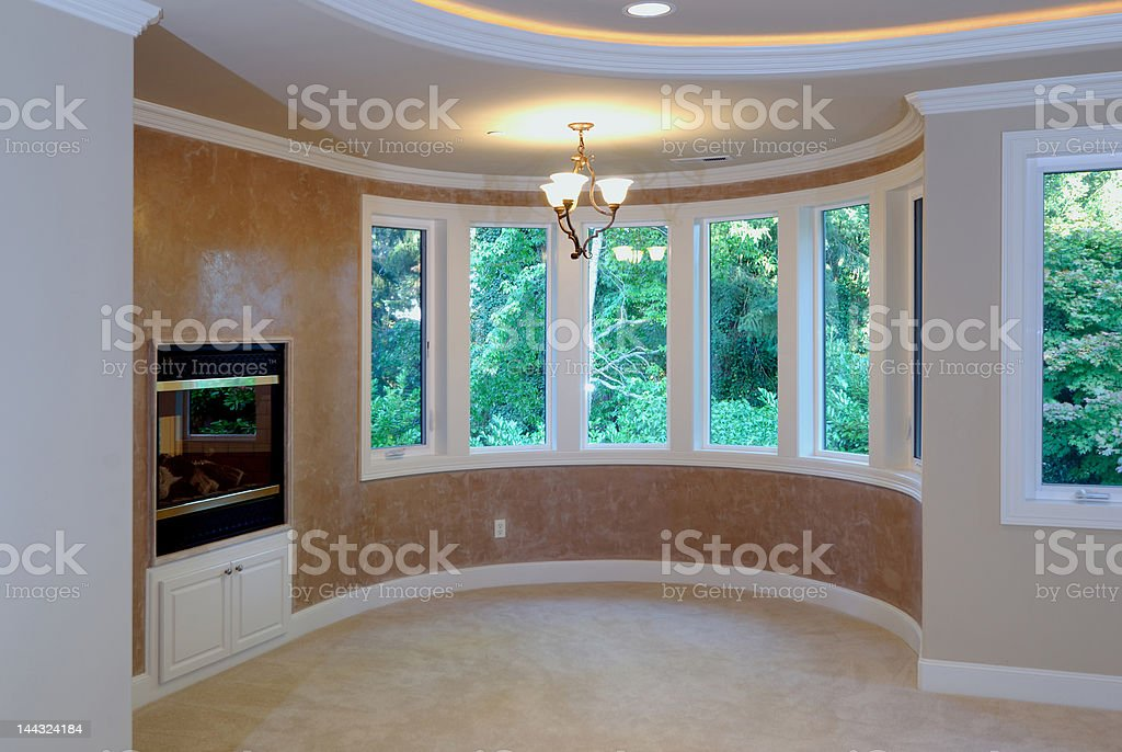 Den in the Master Suite royalty-free stock photo