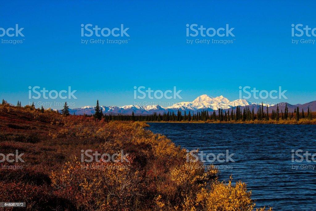 Denali, Alaska stock photo