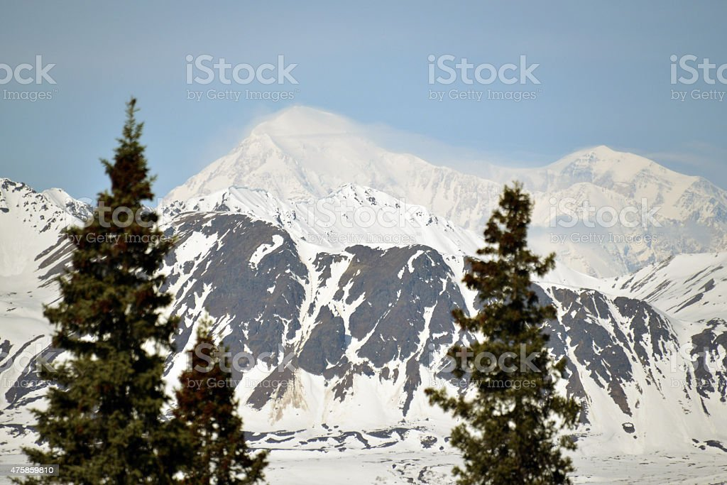 Denali - Denali National Park - Alaska stock photo