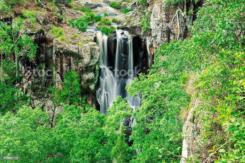 Denham Falls in Queensland stock photo