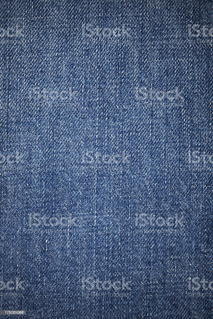Denim Cloth Close-Up royalty-free stock photo