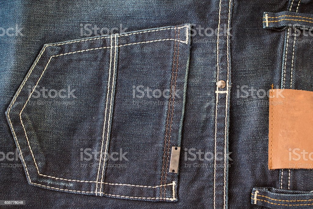 denim fashion stock photo