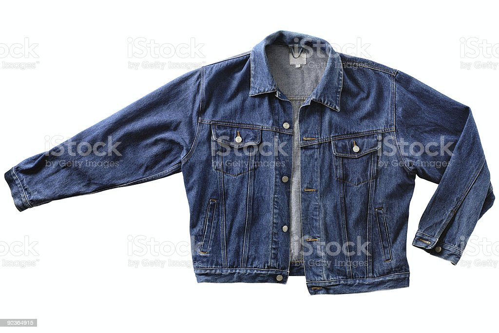 Denim Jacket royalty-free stock photo