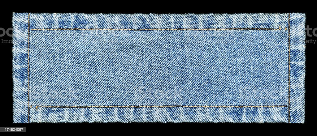 Denim Jeans banner background textured isolated royalty-free stock photo