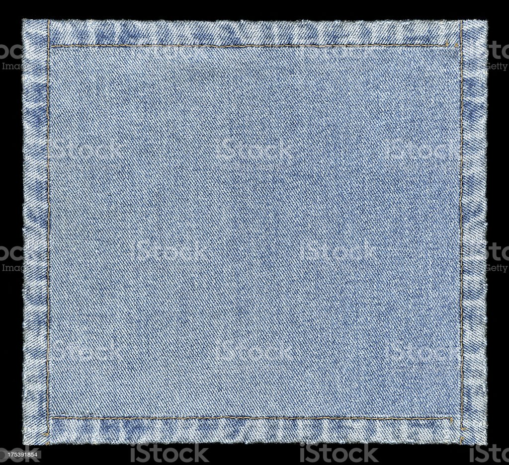 Denim jeans frame background textured isolated stock photo