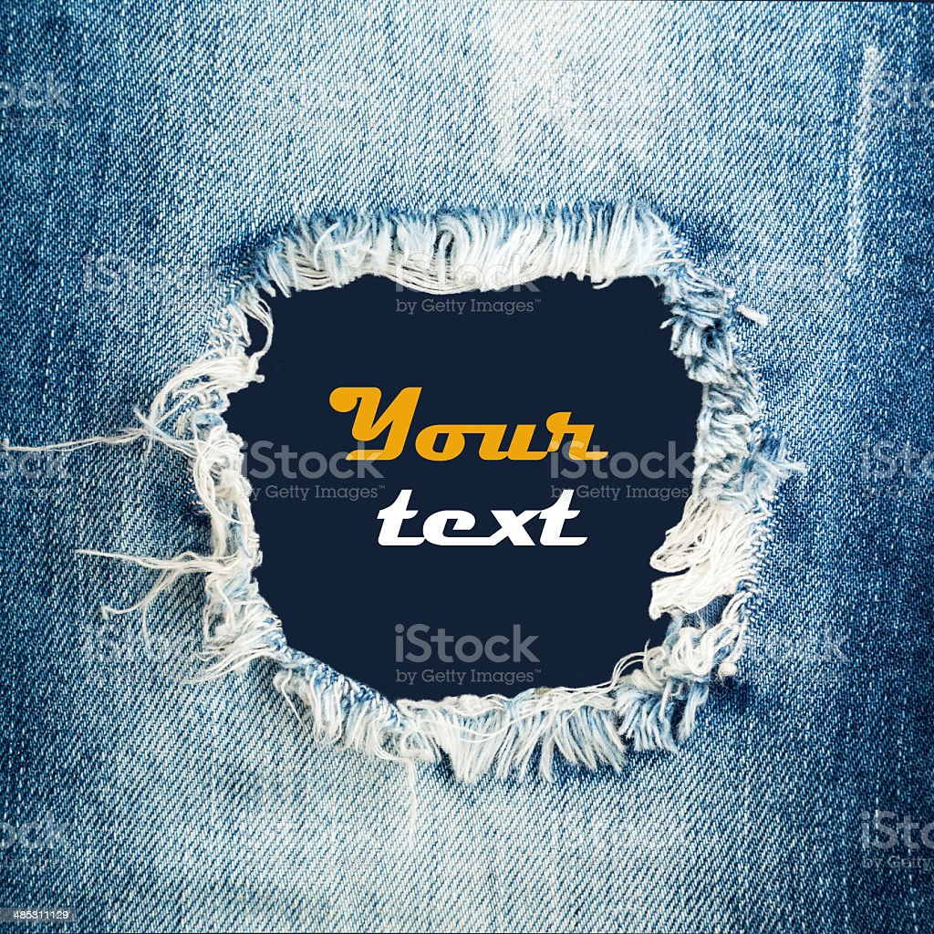 denim jeans texture stock photo