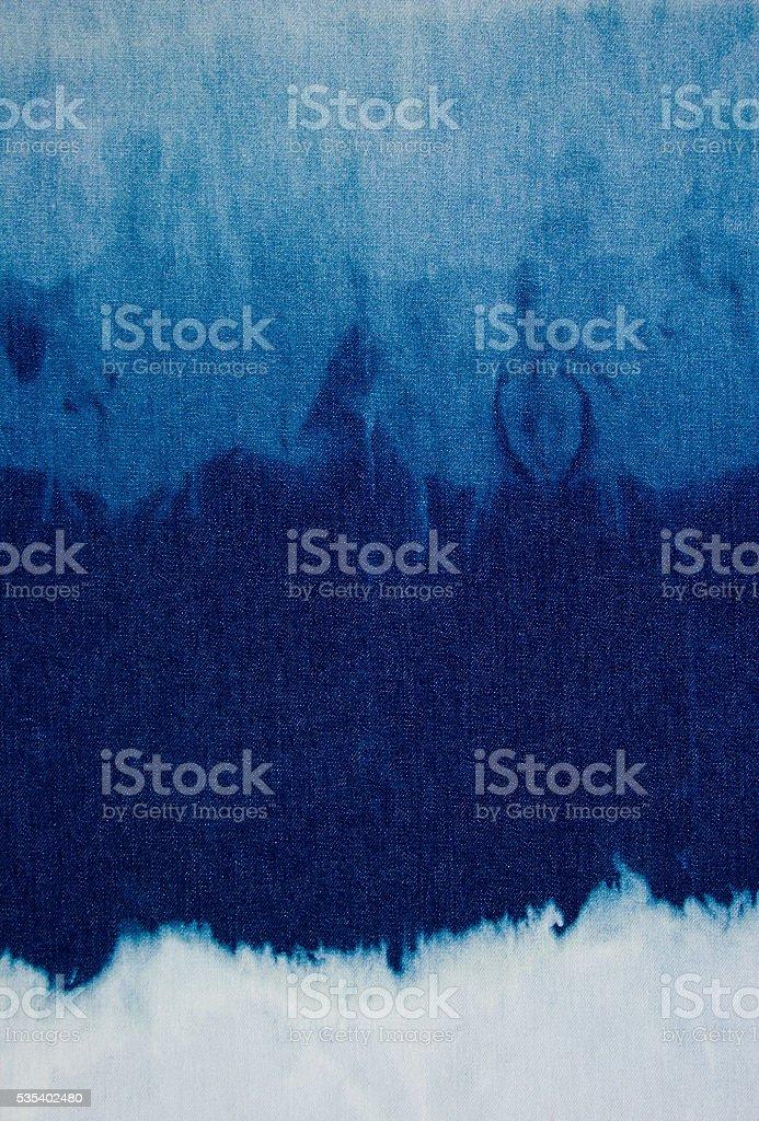 Denim Texture Navy Blue Background stock photo