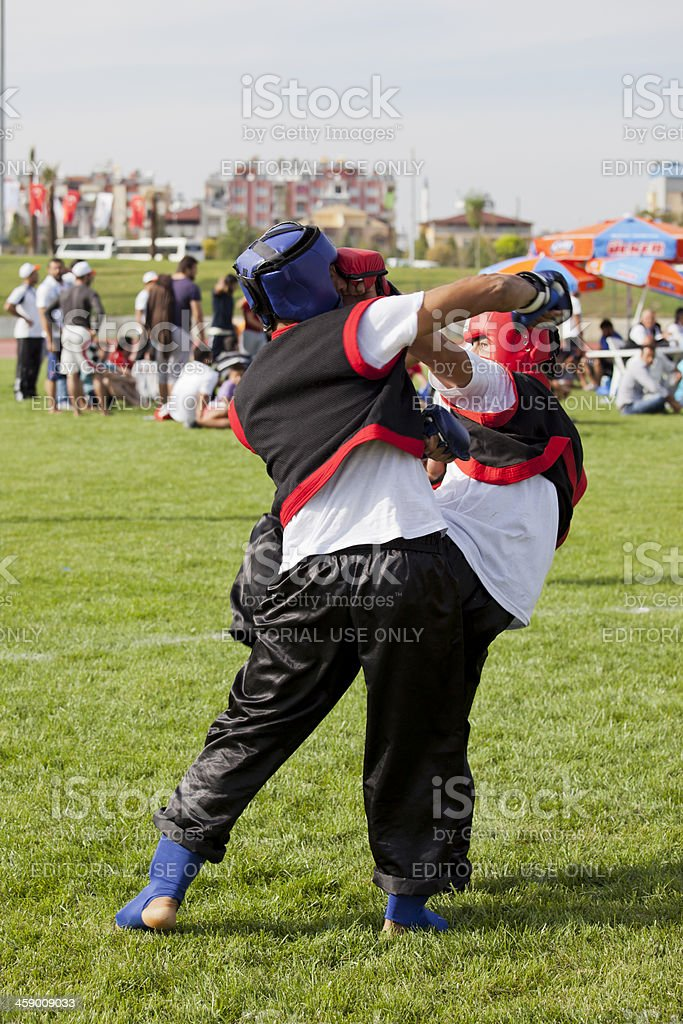 Denizli United Nations Alliance of Civilizations Traditional Sports Festival royalty-free stock photo