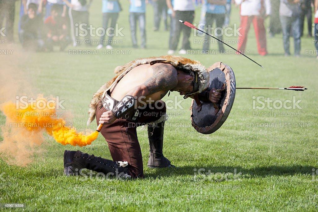 Denizli United Nations Alliance of Civilizations Traditional Sports Festival stock photo