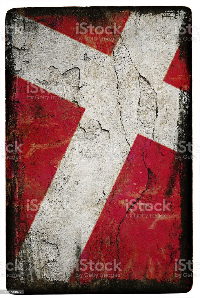 Denmark Flag XXL royalty-free stock photo