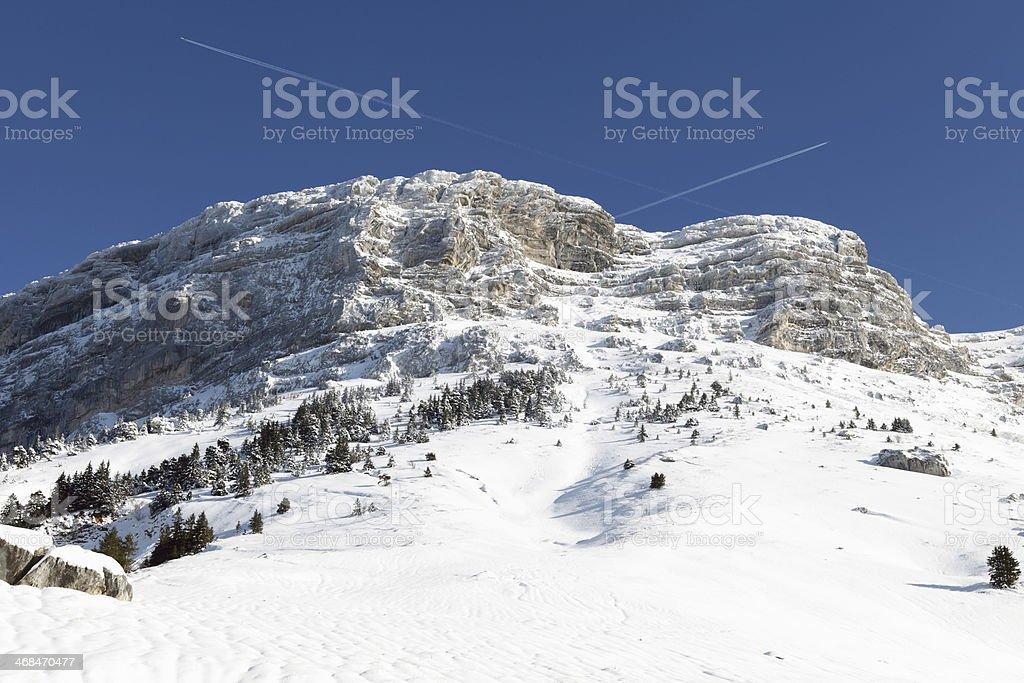 Dent du Crolles stock photo