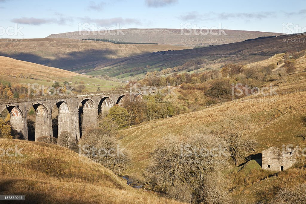 Dent Head Viaduct stock photo