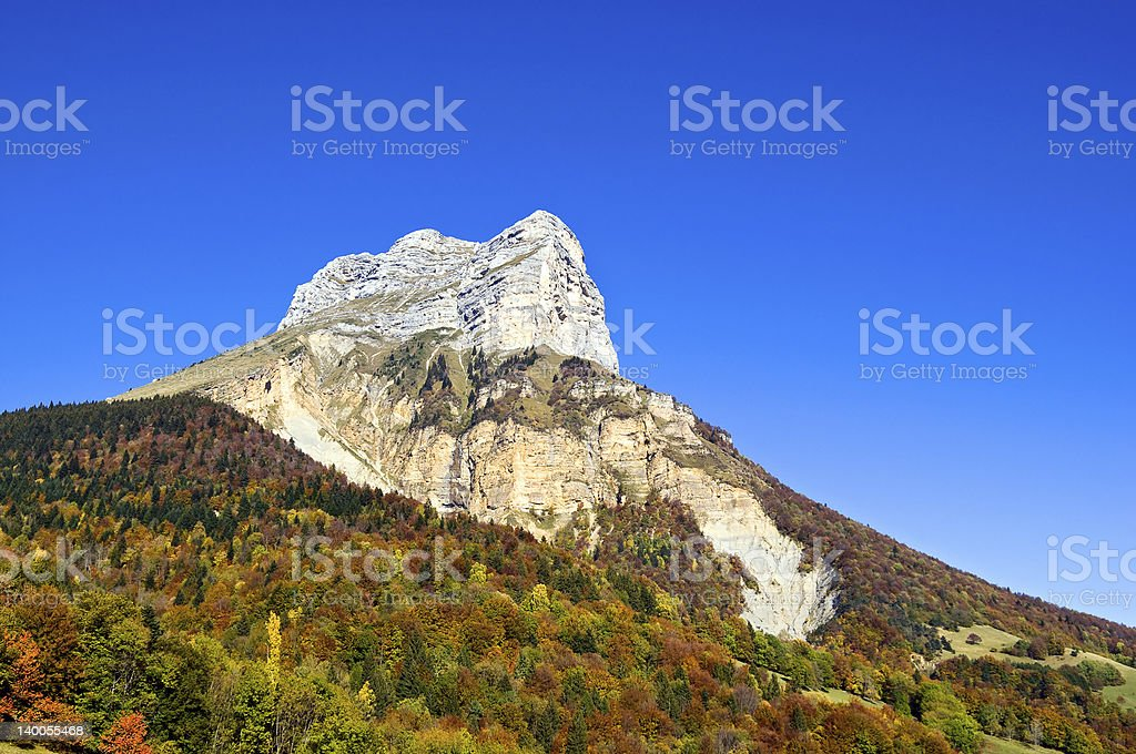 Dent of Crolles stock photo