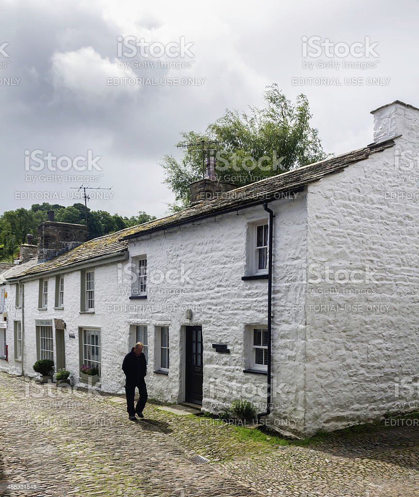 Dent Village, Cumbria royalty-free stock photo