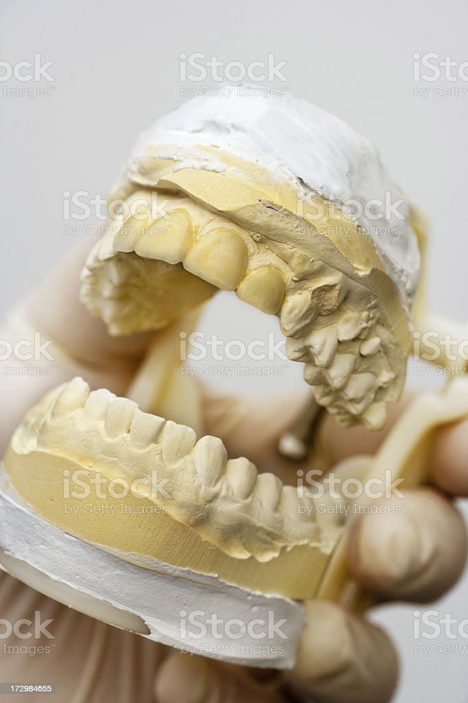 Dental Articulator stock photo