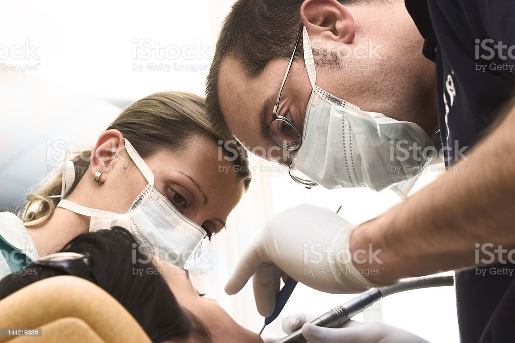 Dental Attendance stock photo