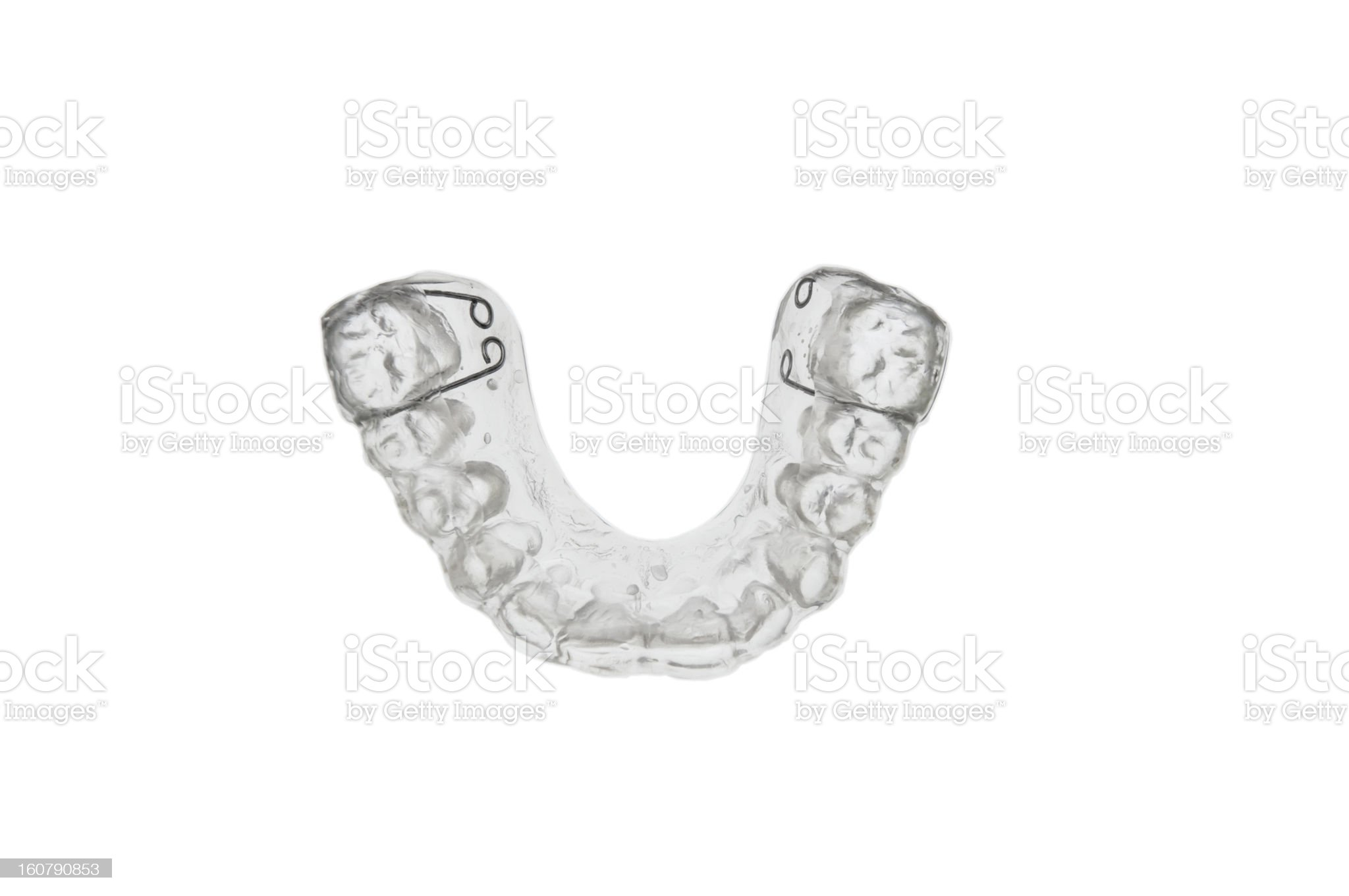 dental bite royalty-free stock photo