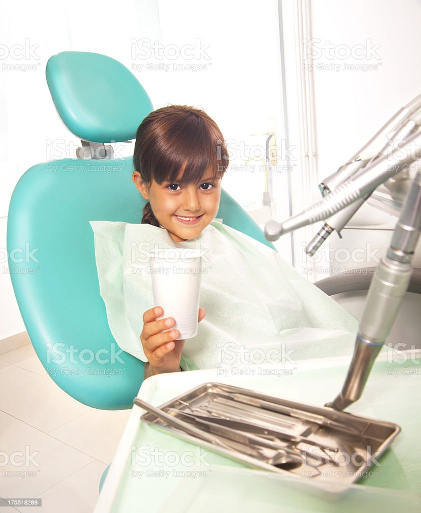 Dental care royalty-free stock photo