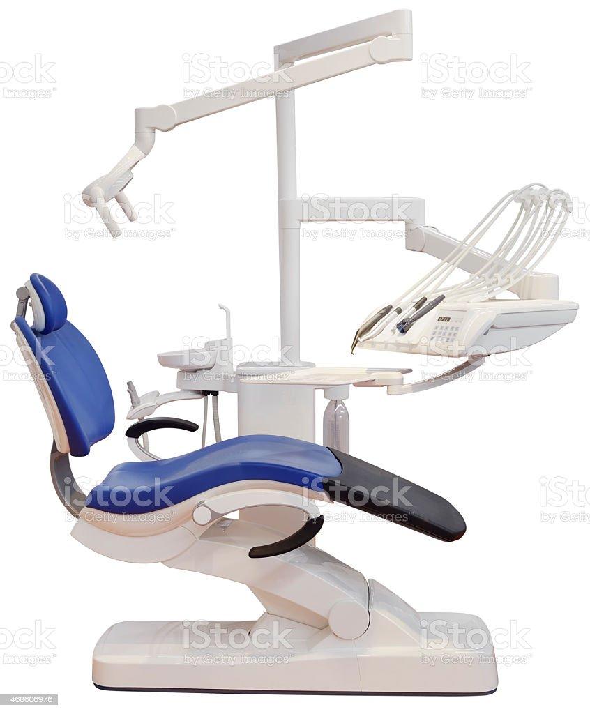 Dental Chair Cutout stock photo