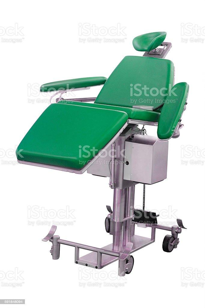 dental chair stock photo