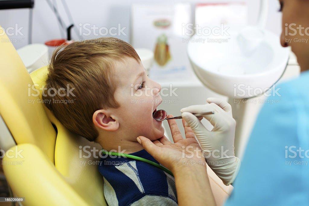 Dental Checkup royalty-free stock photo