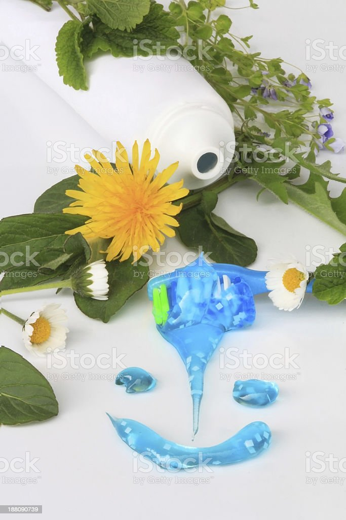 dental cleaning stock photo