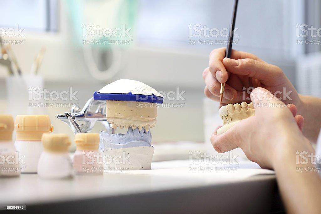 dental dentist objects stock photo