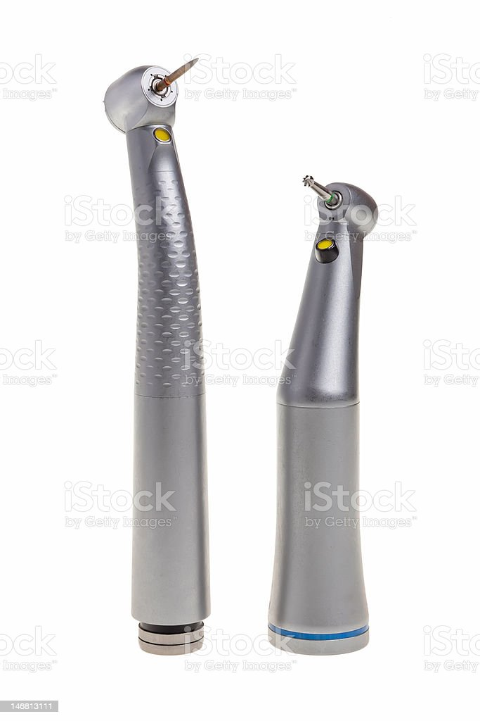 Dental drill tools. royalty-free stock photo
