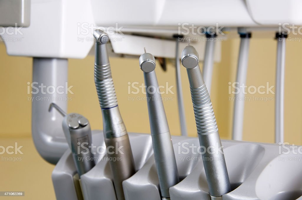 dental equipment royalty-free stock photo