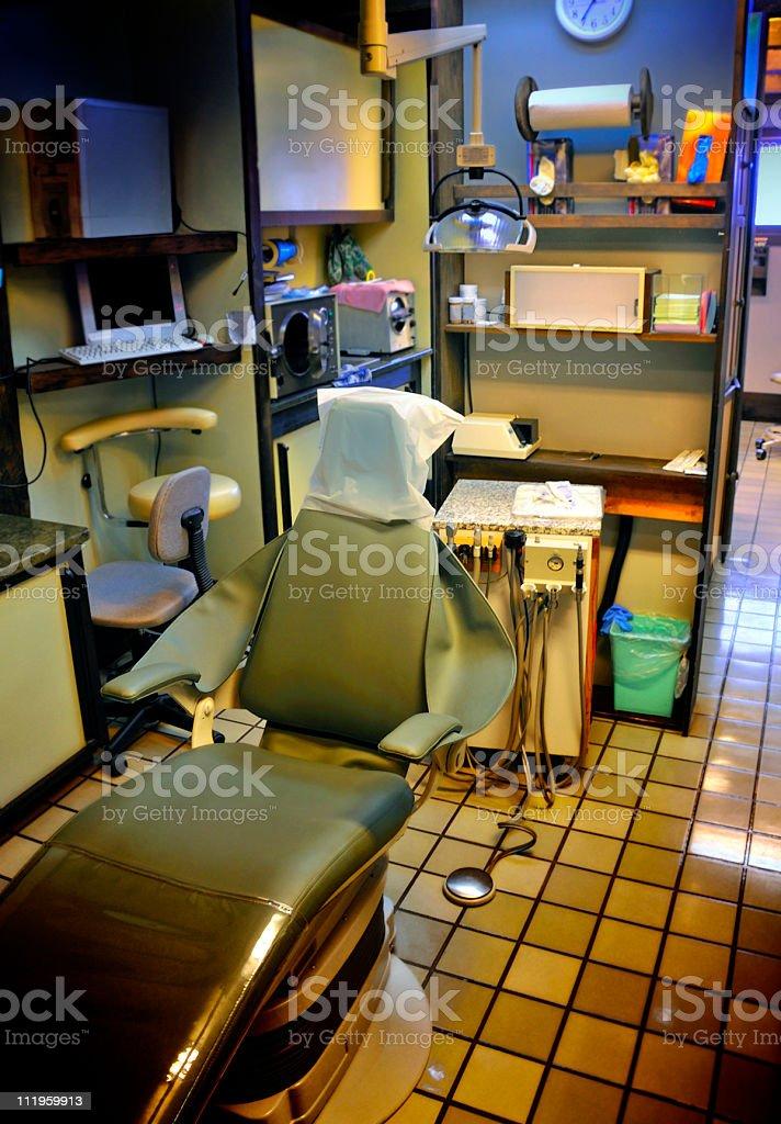 Dental Exam Room royalty-free stock photo