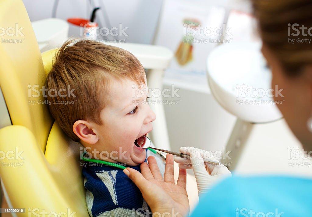 Dental Examination royalty-free stock photo