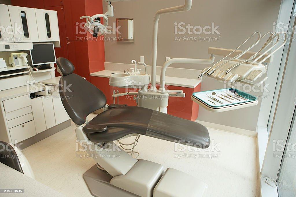 Dental examination room stock photo