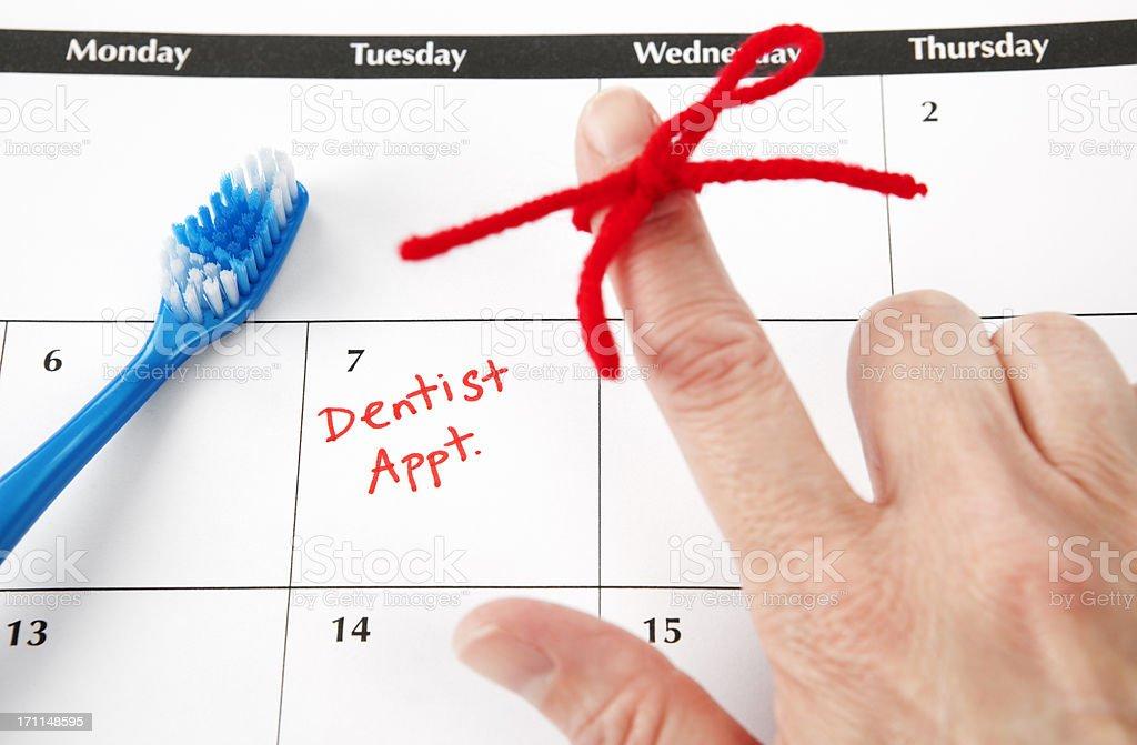 Dental Hygiene Appointment stock photo